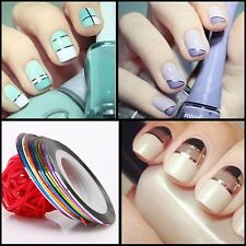 10x Rolls Striping Tape Line Nail Sticker Nail DIY Kit Nail Art UV Gel Tips New