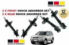 FOR NISSAN XTRAIL X TRAIL T30 2001-2007 2x FRONT & 2 x REAR SHOCK ABSORBER SET
