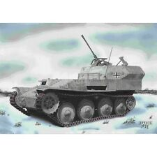 Char Allemand anti-aérien FLAKPANZER 38t - KIT ATTACK HOBBY KITS 1/72 n° 72828