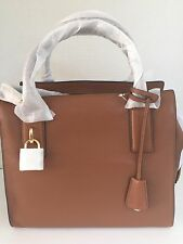 NWT Michael Kors McKenna Medium Leather Luggage Satchel Bag 30F5GEKS2L