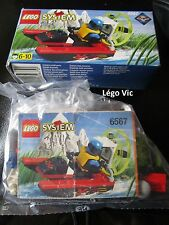 Lego 6567 City Boat Speed Splasher Extreme team Notice Boite complet de 1998
