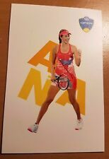 ANA IVANOVIC 2X3 2016 WESTERN & SOUTHERN ATP TENNIS COLLECTOR STICKER