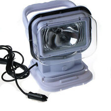55w 12V HID Search JEEP Fishing REMOTE CONTROL Spot Light FOR OFFROAD Boat White