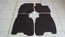 Genuine Honda Rubber Mats, Civic 5 Door 2007, 2008, 2009, 2010 and 2011 Set of 4