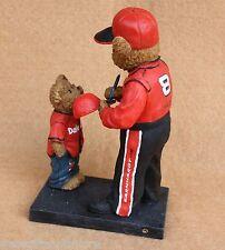 Boyds Bears Resin NASCAR Dale Earnhardt JR 8 Lil Fan Figurine Retired