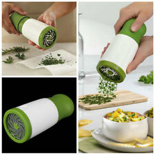 Herb Mill Chopper Cutter Mince Stainless Steel Blades Safely New KG
