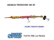 ARTIFICIALE - PINOCCHIO cm20 TIGROTTO  3 SEZIONI  PESCE SERRA- SPIGOLA