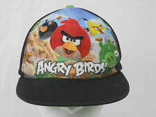 Angry Birds Snapback Hat Cap Group Crew Shot Cartoon Video Game Youth