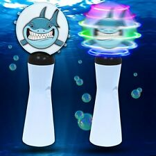 Shark LED Light Coin Spinner Wand Galaxy Spectra Spinning Toy