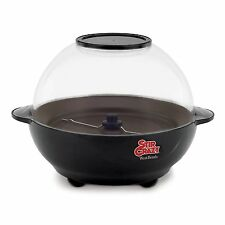 NEW Stir West Bend 82306 Crazy Popper Popcorn 6 Quart Corn Electric Maker Black