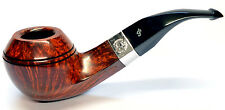 Peterson Sherlock Holmes Squire Smooth Finish Silver Mounted Pipe 9mm Filter
