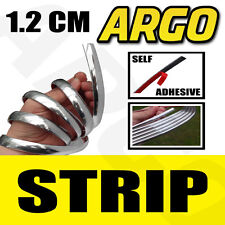 CHROME STYLING STRIP MOULDING DOOR TRIM EDGING 12MM VAUXHALL INSIGNIA SALOON