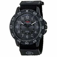 TIMEX T499979J EXPEDITION CAMPER TRAIL MEN'S WATCH BLACK NYLON BAND {2-28}