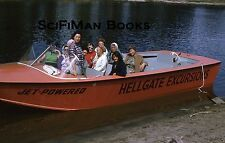 KODACHROME 35mm Slide Oregon Rogue River Hellgate Jetboat Excursions Women 1970s