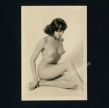 #268 RÖSSLER AKTFOTO / NUDE WOMAN STUDY * Vintage 1950s Studio Photo - no PC !