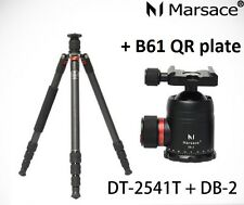 Marsace DT-2541T Classic Edition Reversible Tripod Kit + DB-2 Ballhead + B61 QR
