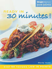 Weight Watchers Ready in 30 Minutes!: Over 60 Recipes Low in Points,GOOD Book