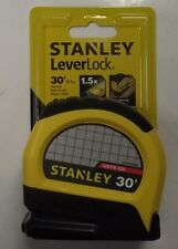 Stanley STHT30830 30' Leverlock Tape Measure Ruler 1-Inch x 30ft
