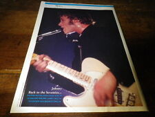JOHNNY HALLYDAY - Mini poster couleurs 20 !!!!!!!!!!!!!!!
