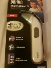 Braun ThermoScan3 Infrared Ear Thermometer Baby Children Infant IRT3030