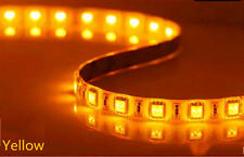 5M Auto Accent Light WaterProof Yellow LED Lighting Flexible Strip SMD 300 LED