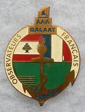 INSIGNE OPEX - QALAAT (Poste) - Observateurs Français