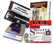 BRAND NEW RELOADING PACKAGE, DIGITAL POWDER SCALE, CALIPERS , 2ND ED LEE MANUAL