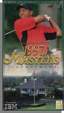 Highlights of the 1997 (Golf) Masters Tournament - New VHS Tiger Woods Video!