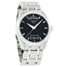 Tissot Couturier Mens Black Dial Day/Date Swiss Automatic Watch T035.407.11.051