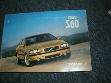 2001 VOLVO S60 S-60 S 60 FACTORY ORIGINAL COMPLETE OWNERS OPERATORS MANUAL