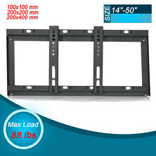 Slim TV Wall Mount Bracket 22 24 26 29 32 40 42 48 50 inch LED LCD Flat Screen