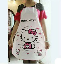Kitty Cat  Women Lady Home Cartoon Kitchen Restaurant Cooking Bib Apron
