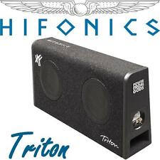 Hifonics TRS BASSBOX MDF chassis extra piatto con 2x16,5cm SUBWOOFER UVP/199 €