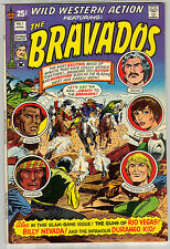 WILD WESTERN ACTION 1 THE BRAVADOS 7.0 7.5 GLOSSY