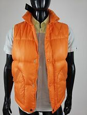 Diesel 55DSL New Men's Jumpvest Jacket Size L Color Orange Retail 135 Euro