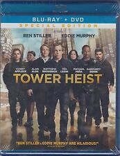 Tower Heist (Blu-ray/DVD, 2012, 2-Disc Set, Special Edition) NEW!