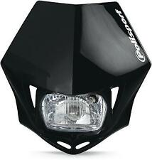 Polisport - 8663500002 - MMX Universal Headlight, Black
