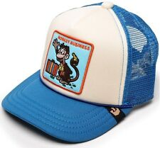 NEW! Goorin Bros Animal Farm Trucker Hat Kids MONKEY BUSINESS CAP Cartoon BLUE