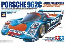Tamiya 24313 1/24 Model Car Kit Repsol Brun Motorsport Porsche 962C Le Mans'90