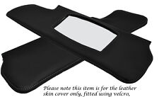 GREY STITCH FITS TRIUMPH SPITFIRE GT6 62-80 2X SUN VISORS LEATHER COVERS ONLY