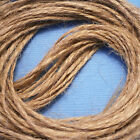 10 Metres Natural Brown 2 Ply Jute Rustic String Shabby Shank Twine Craft Sisal