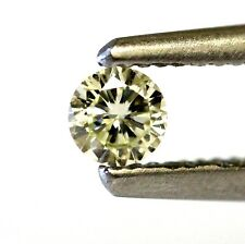 loose round diamond .13ct VS1 O P 3.35X1.86mm vintage estate antique