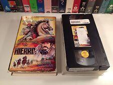 El Hombre De Hierro Rare Spanish Language Mexi VHS 1993 Mexican War Action OOP