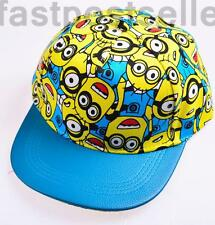 Kids Boys Despicable Me Minions Sunny Baseball Cap Hat Adjustable Gift Accessory