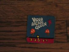 vintage video arcade queen patch,60's new old stock,no border