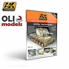 Winter Weathering Techniques for Invernal Vehicles DVD - AK Interactive 35