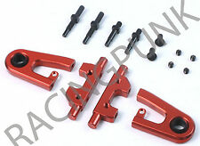 Fit TAMIYA TT-01 TT-01E RC Car Hop Up Alloy ADJUSTABLE FRONT UPPER ARMS Camber R