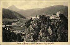 Matrei am Brenner Tirol Österreich AK ~1920/30 Schloss Trautson Waldrasterspitze