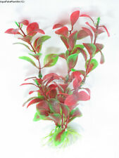 "(S12) 8"" Long Realistic Artificial Plants for Aquarium/ Fish Tank(SHIP FROM USA)"