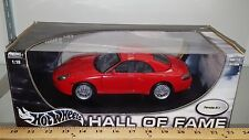 1/18 HOT WHEELS HALL OF FAME PORSCHE 911 RED bd